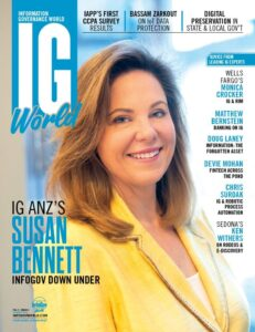 Info Gov World Magazine - Susan Bennett